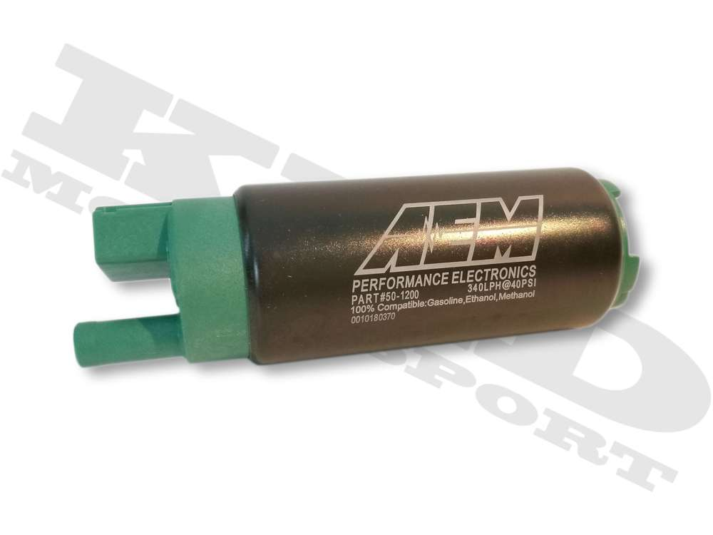AEM 340LPH E85-Compatible High Flow In-Tank Fuel Pump on
