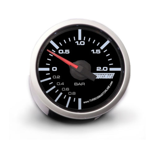Turbosmart Boost Gauge 0-2 BAR 52mm - 2 1/16""